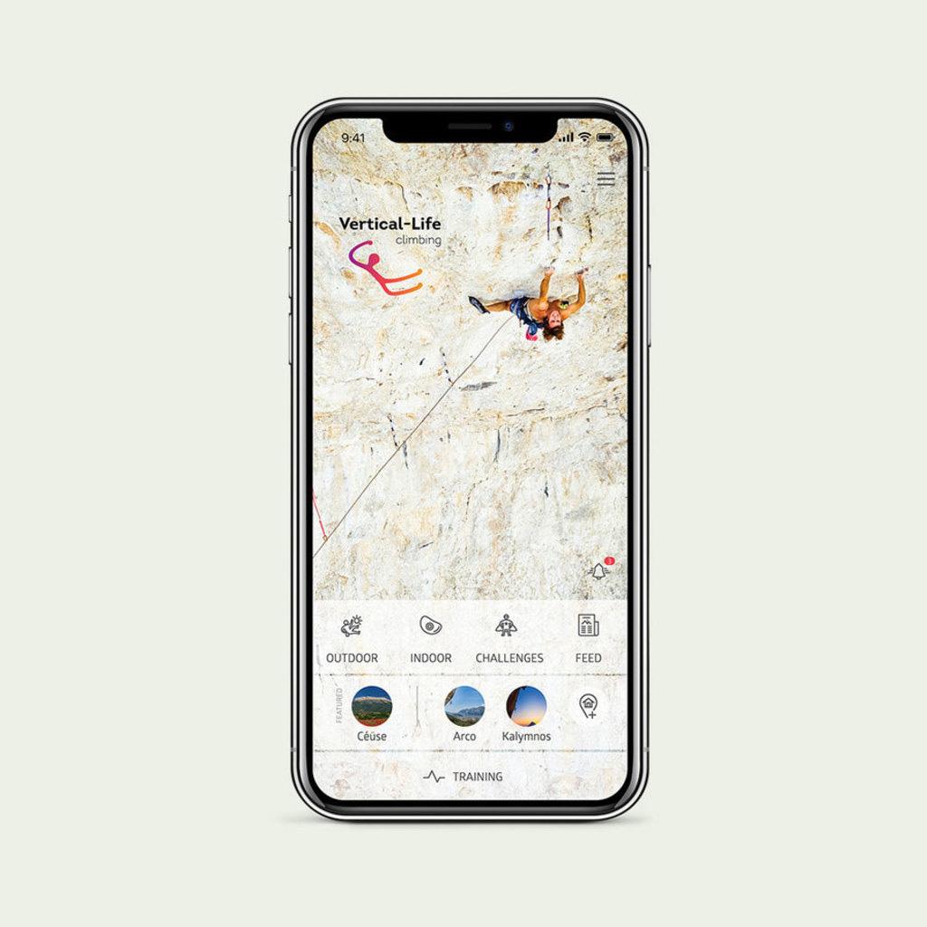 Vertical Life Climbing App