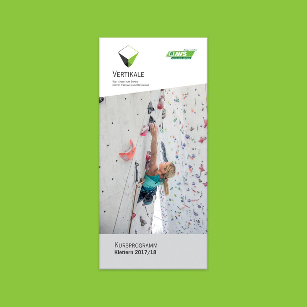 Vertikale brochure corsi